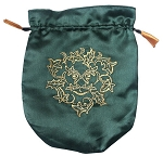 GREEN SATIN BAG (GREENMAN)